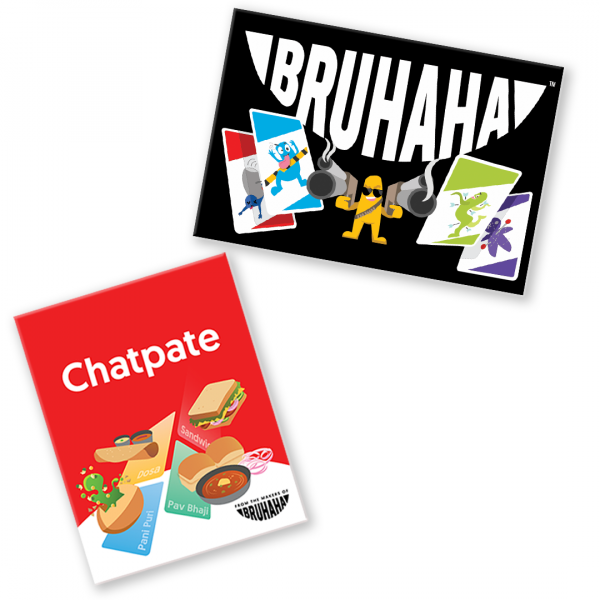Combo of Bruhaha and Chatpate